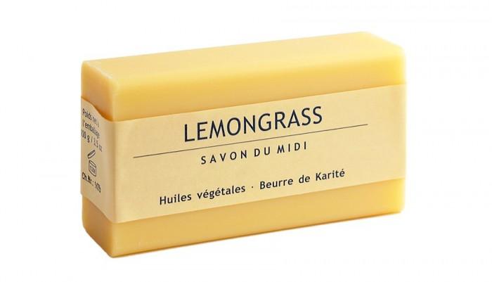 Сапун с лимонова трева и карите 100 г, Savon du Midi,  100 г