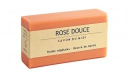 Сапун с аромат на роза и масло от карите 100 г, Savon du Midi,  100 г