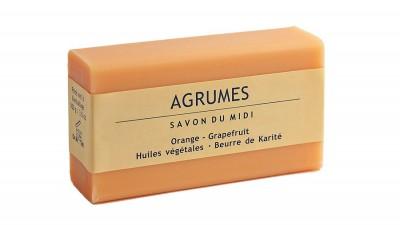 Orange Grapefruit Shea Butter Soap 100g
