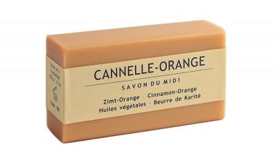 Сапун с аромат на канела и портокал 100 г