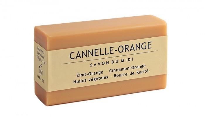 Сапун с аромат на канела и портокал 100 г, Savon du Midi,  100 г
