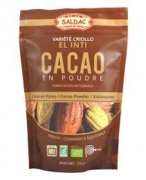 Био какао на прах (Перу) 250 г, Saldac,  250 г