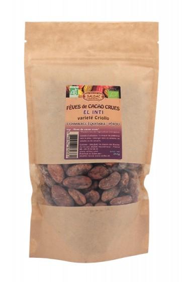 Сурови какаови зърна от Перу 250 г, Saldac,  250 г