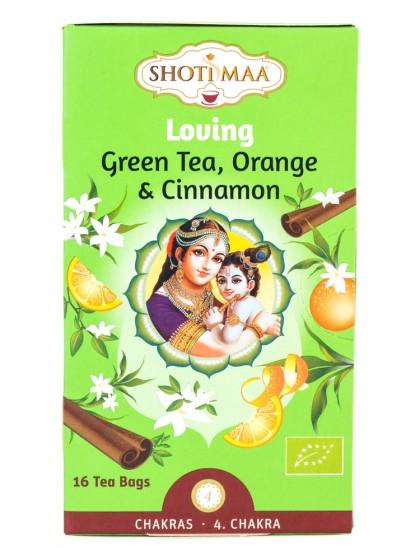 """Чай """"Любов"""" със зелен чай, портокал и канела, Hari's ,  16 бр"""