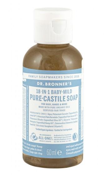Кастилски сапун за бебета 60/240/475 мл, Dr. Bronner's,  60 мл,  240 мл,  475 мл