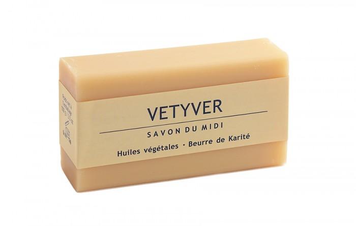 Мъжки сапун с аромат на ветивер 100 г, Savon du Midi,  100 г