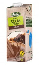 Соева напитка с шоколад - био - 1 л, Berief,  1 Л