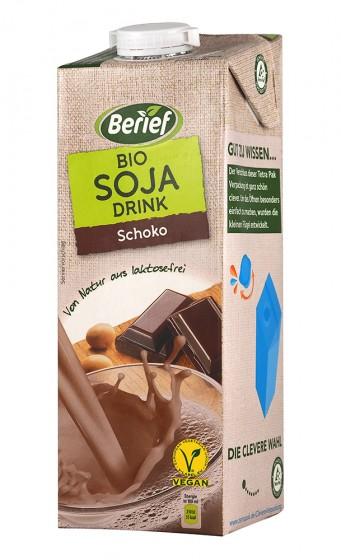 Соева напитка с шоколад - био - 1 л