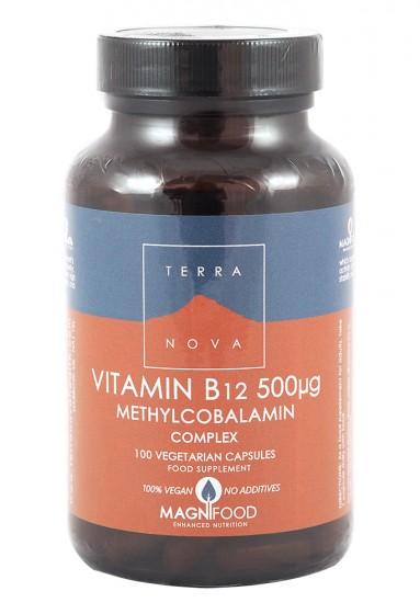 Витамин B12 - метилкобаламин комплекс – 50/100 капсули, Terra Nova,  50 бр,  100 бр