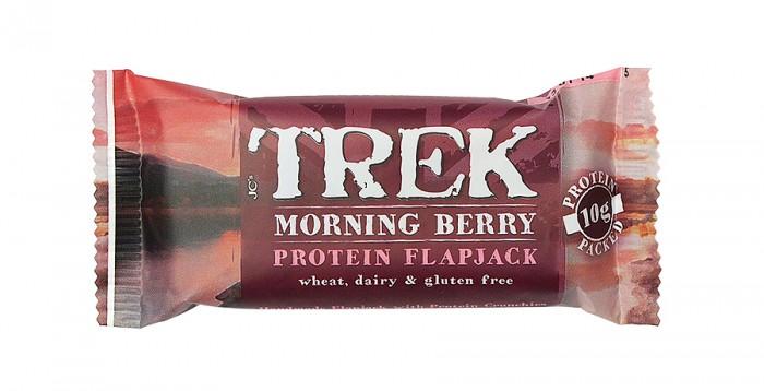"""Протеинов бар с горски плодове """"Morning Berry"""" 50 г, Trek,  50 г"""