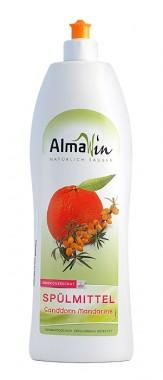 Био препарат за ръчно миене на съдове - мандарина 1л
