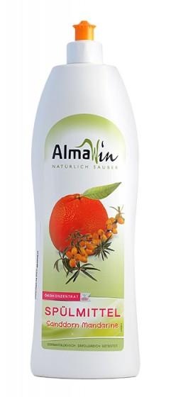 Био препарат за ръчно миене на съдове - мандарина 1л, AlmaWin,  1 Л