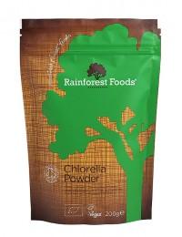 Хлорела на прах 200 г, Rainforest Foods,  200 г