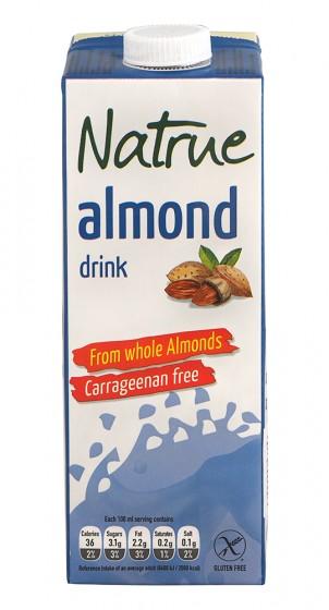 Натурална бадемова напитка - 1л, Natrue,  1 Л