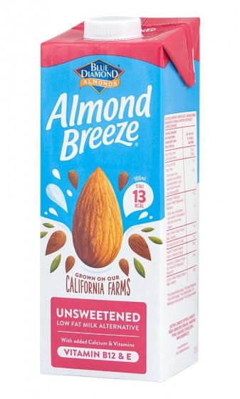 Бадемово мляко - неподсладено 1л, Blue Diamond,  1 Л