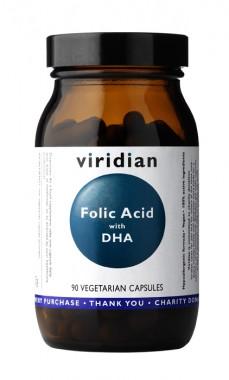 Фолиева киселина с DHA – 90 растителни капсули