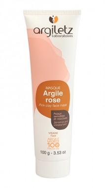 Готова маска за лице с розова глина за чувствителна кожа - 100 гр
