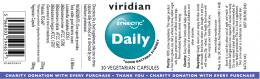 Tri-Blend Acidophilus Complex with FOS 30/90 capsules, Viridian,  30 pcs,  90 pcs