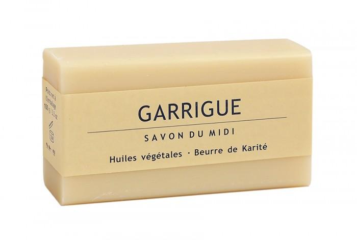"""Мъжки сапун с карите """"Garrigue"""" - 100 г, Savon du Midi,  100 г"""