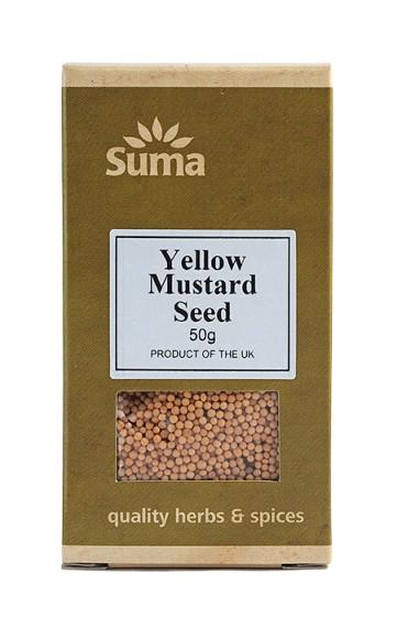Семена от жълт синап - 50 г