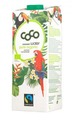 Био кокосова вода - не от концентрат 1 л