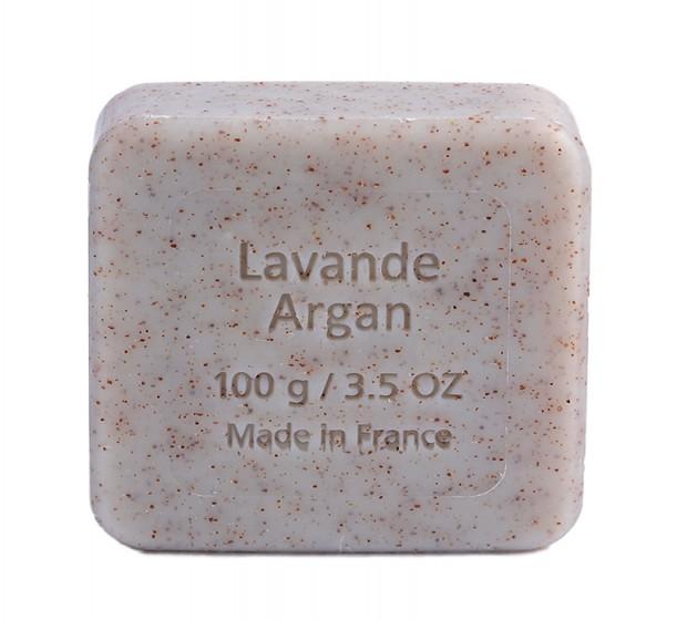 Флорален сапун с арган и лавандула - 100 г, Savon du Midi,  100 г