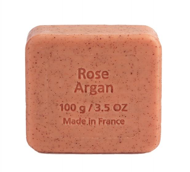 Флорален сапун с арган и роза - 100 г