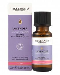 Био етерично масло от лавандула - 9/20 мл, Tisserand® Aromatherapy,  9 мл,  20 мл