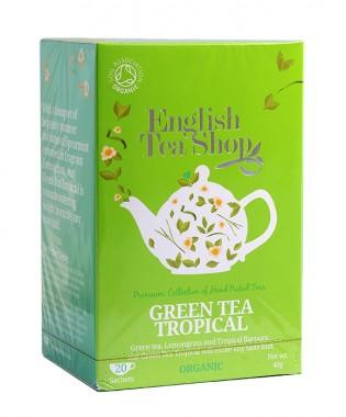 """Органичен зелен чай """"Tropical"""""""