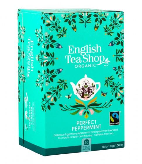 Чай от органична мента, English tea shop,  20 бр