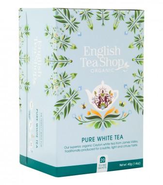 Oрганичен бял чай