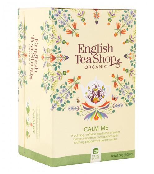"""Органичен чай """"Успокояваща смес"""", English tea shop,  20 бр"""