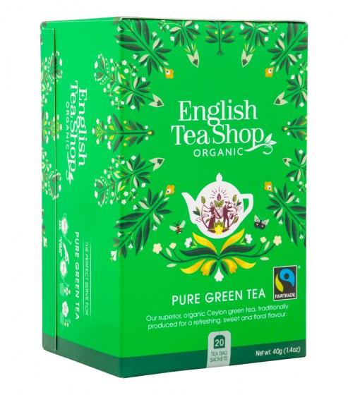 Органичен зелен чай, English tea shop,  20 бр