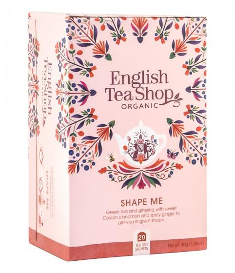 "Oрганичен чай ""Shape Me"", English tea shop,  20 бр"