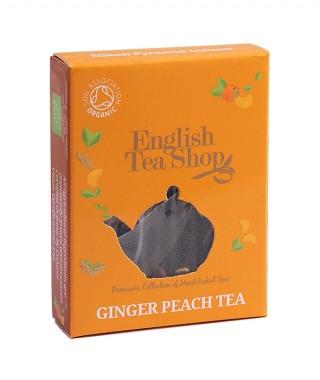 Органичен чай – джинджифил и праскова - 2 г