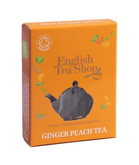 Органичен чай – джинджифил и праскова - 2 г,  2 г