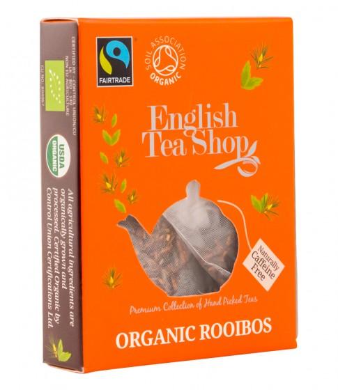Органичен чай ройбос - 2 г, English tea shop,  2 г