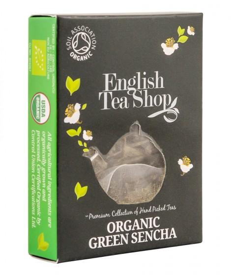 Oрганичен зелен чай сенча - 2 г, English tea shop,  2 г