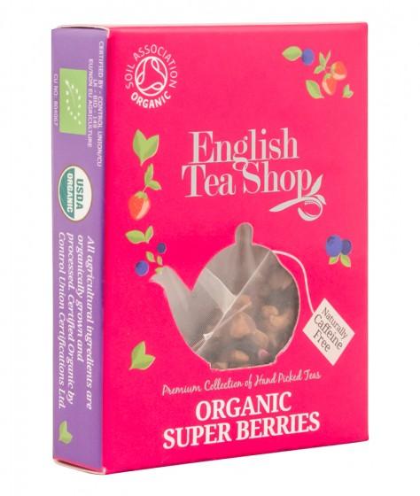 Органичен чай - Горски суперплодове - 2 г, English tea shop,  2 г