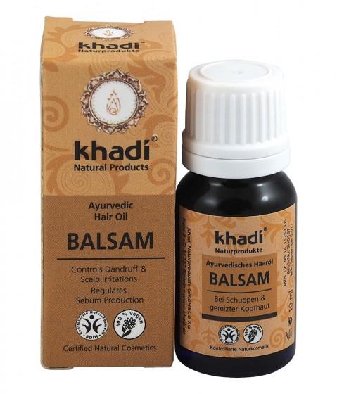 Масло-балсам за коса – против пърхот и възпаления - 10/100 мл, Khadi,  10 мл,  100 мл