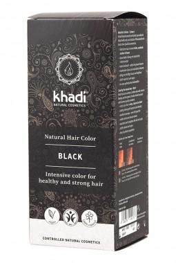Билкова боя за коса – черна