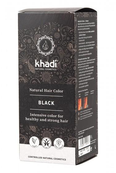 Билкова боя за коса – черна, Khadi,  1 бр