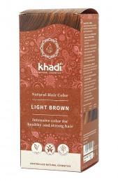 Билкова боя за коса – светло кафява, Khadi,  1 бр