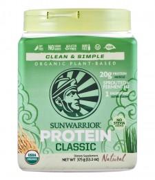 "Суров протеин ""Classic Protein"" - натурален - 375 г, Sunwarrior,  375 г"
