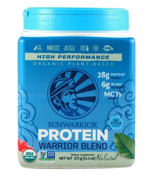 "Протеин ""Warrior Blend"" - натурален - 375 г, Sunwarrior,  375 г"