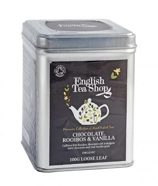 Органичен чай ройбос с ванилия и шоколад - насипен - 100 г