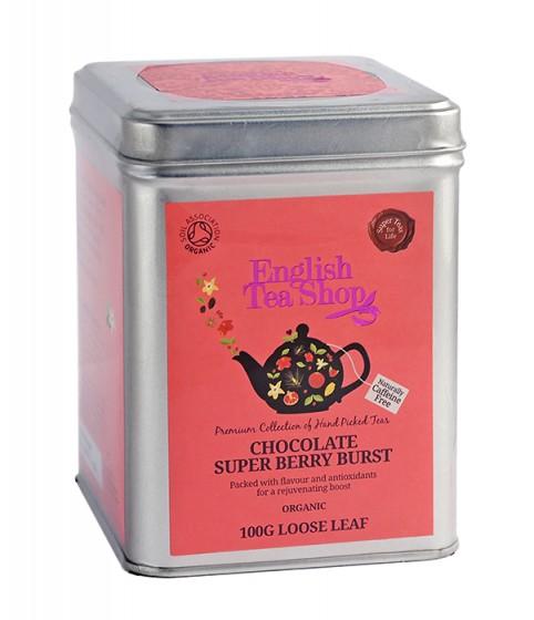 Органичен чай – Шоколад и суперплодове - насипен – 100 г
