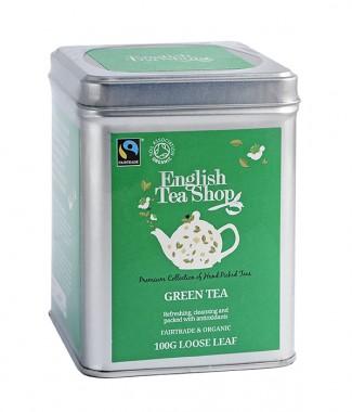 Органичен зелен чай – насипен – 100 г