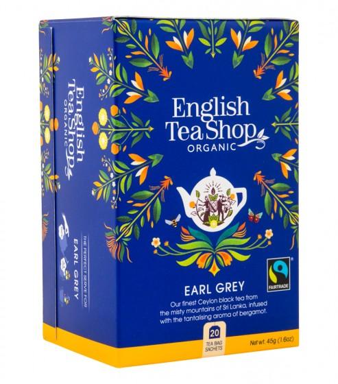 """Органичен чай """"Ърл Грей"""", English tea shop,  20 бр"""