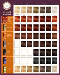 Билкова боя за коса – тъмно кафява - 500 г,  500 г